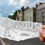 Camera vs Pencil by Ben Heine