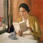 A. Denieka, Donna che legge, 1934