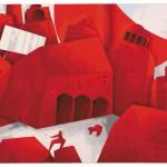 Emilio Tadini, Bozzetto per la scultura Sole di Aosta (1998-2002)