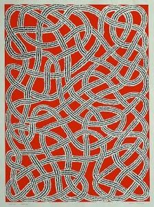 Stoffa disegnata da Anni Albers (1899-1994)