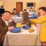 Botero, Sala da pranzo