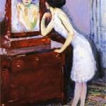 Kees van Dongen, Donna allo specchio