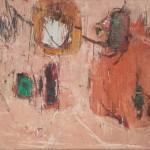 Erminio Maffioletti, Composizione su olio e tela (prima metà anni '60)