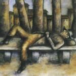 Ottone ROsai, Uomo sulla panchina