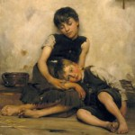 Thomas Kennington, Orfani, 1885