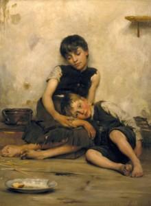 Thomas Kennington, Orfani, 1885