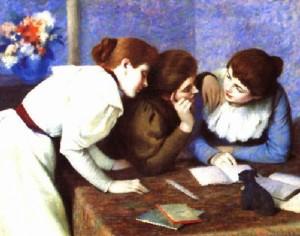 MixBlog_quadri_bozza_Federico Zandomeneghi, 1841-1917, La lettura