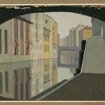 Antonio-Calderara-Milano-il-Naviglio-1928