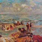 Emilio Gola, Spiaggia ad Alassio