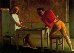 Balthus, Il gioco di carte (1948-50)