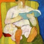 Siro Penagini, Nudo che legge (1906)