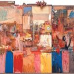 Robert Rauschenberg Collection 1954 mixed mediums, 80 x 96 x ca. 4 in. San Francisco Museum of Modern Art