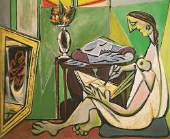Pablo Picasso, La musa (Donna che legge), 1935