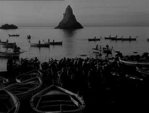 Un fotogramma dal film di Luchino Visconti (1948)