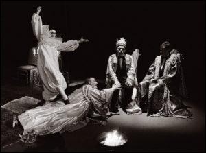 Re Nicolò, di Frank Wedekind, Teatro Stabile di Genova, 1981.