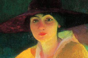 Un ritratto femminile di Andrea Bocchi