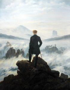caspar-david-friedrich-viandante-mare-nebbia 1818