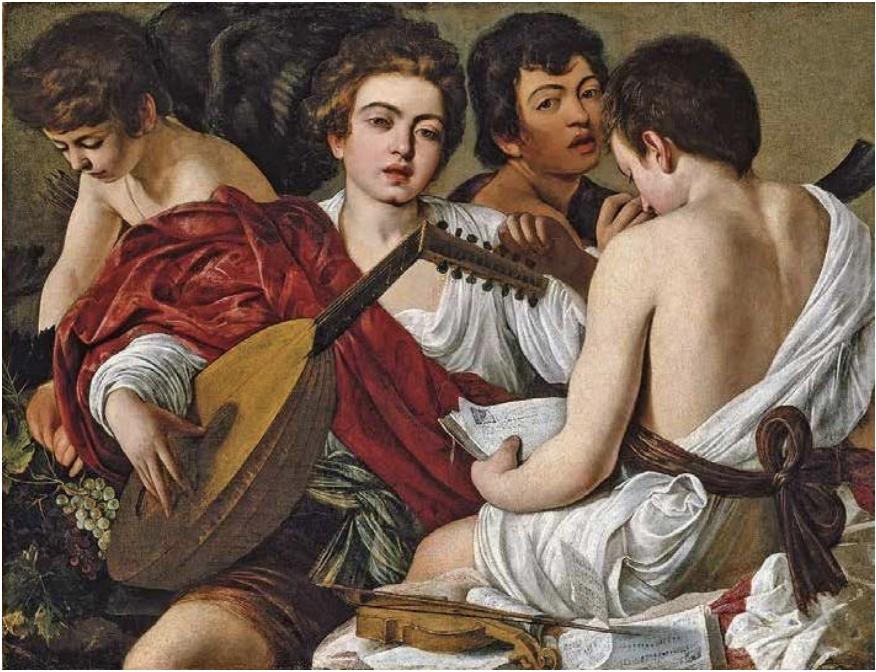 Caravaggio, I musici