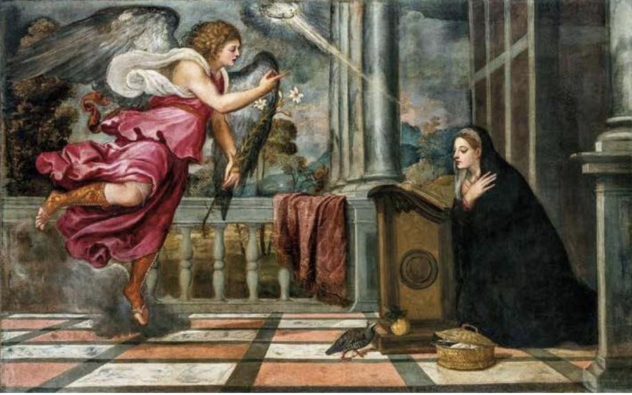 Tiziano Vecellio, Annunciazione (1535)