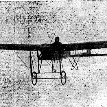 Pasqua 1911, il primo volo su Bergamo