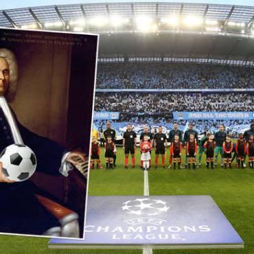 L'inno della Champions? Händel with care…