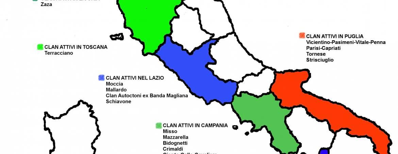 Mappa del gioco e dei clan