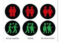 Semafori gay? Anche no, dai